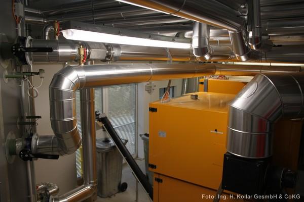 Kollar GmbH | Referenzen - W rmeerzeugung - Kesseltausch 1