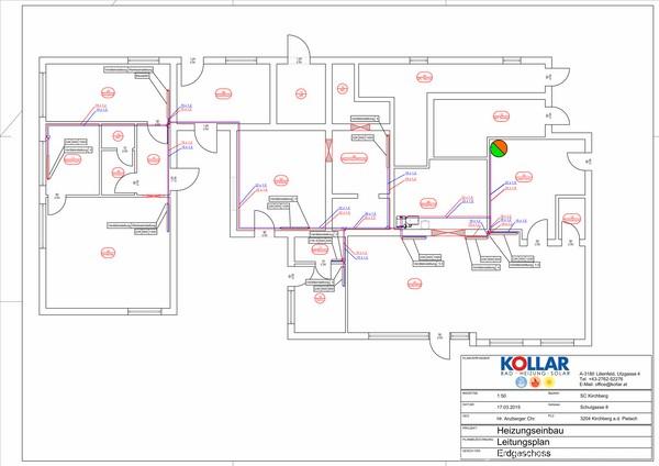 Ausgezeichnet Zentralheizung Plan Fotos - Die Besten Elektrischen ...